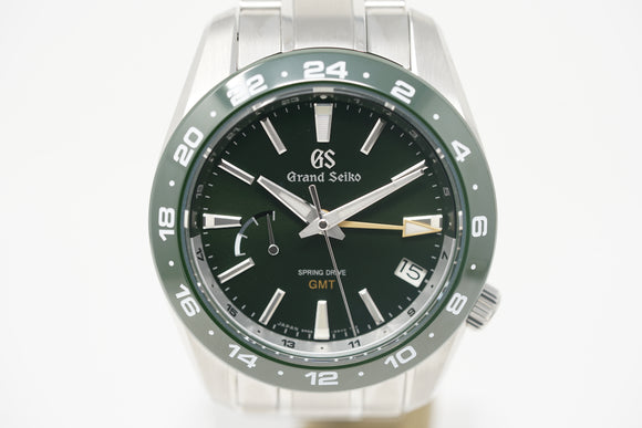 Pre-Owned Grand Seiko Sport Spring Drive GMT SBGE257