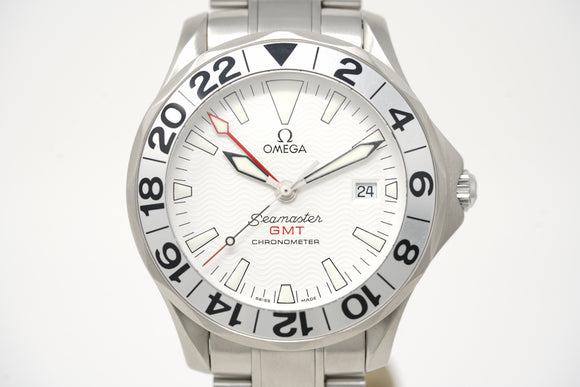 Omega Seamaster Chronometer GMT 2538.20.00