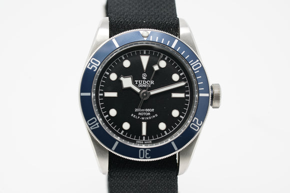 Tudor Black Bay Heritage 79220B with Extra Strap