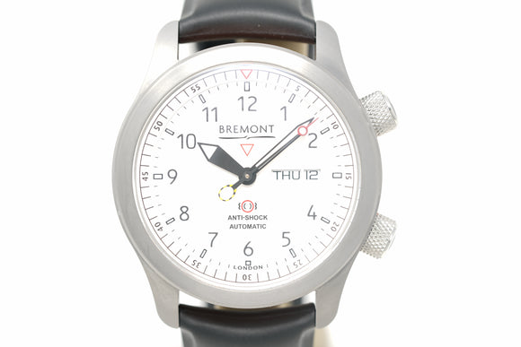 Pre-Owned Bremont MBII-WH/Orange with Three Extra Straps