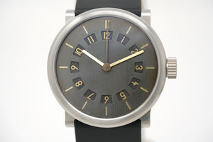 Ochs Und Junior Titanium Two Time Zones Patina