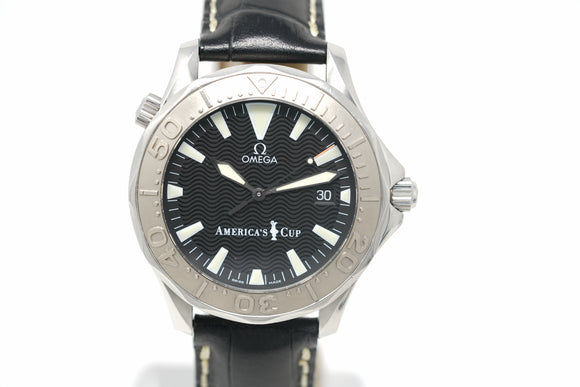 Pre-Owned Omega Seamaster America's Cup 2833.50.91
