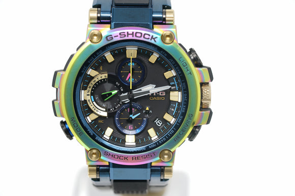 Pre-Owned G-Shock 20th Anniversary Limited Edition MTG-B1000RB-2A