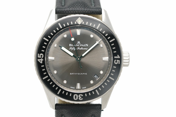 Pre-Owned Blancpain Fifty Fathoms Bathyscaphe 5100 B1110 B52A
