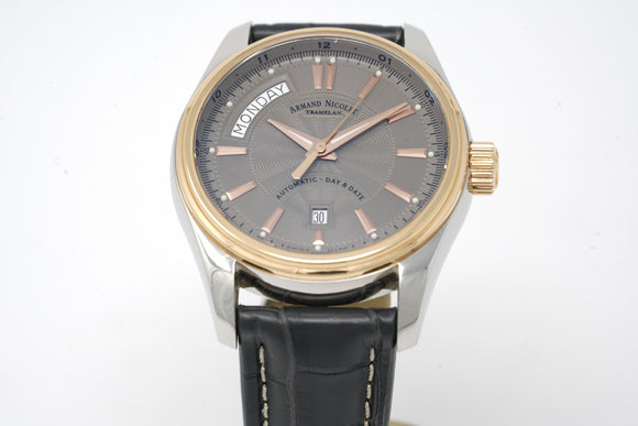 Armand Nicolet Automatic Day-Date M02 AN8641A-2-GR-P974GR2