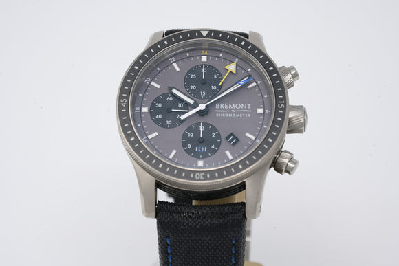Bremont Model 247 Ti-GMT DG BB247-TI-GMT/DG with Extra Strap