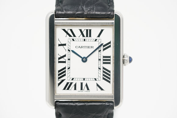 Pre-Owned Cartier Tank Solo Midsize Quartz W5200003