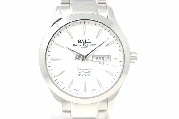 Pre-Owned Ball Engineer II Chronometer Red Label NM2028C-SCJ-WH