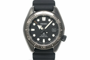 Pre-Owned Seiko Prospex Diver 'Black Series' Topper Limited SPB107