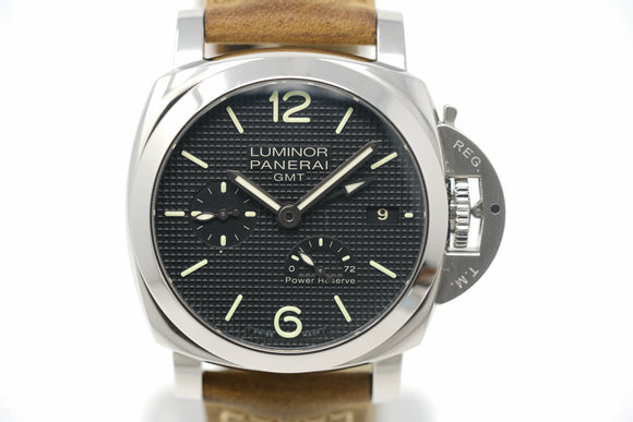 Pre-Owned Panerai Luminor 1950 3 Days GMT Power Reserve PAM00537