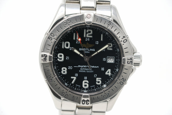 Pre-Owned Breitling Superocean A1734011/B218