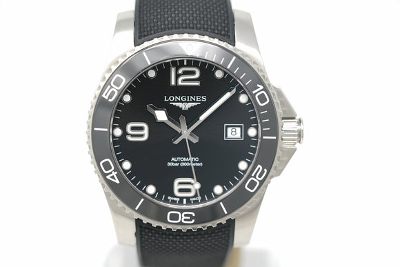 Pre-Owned Longines HydroConquest L3.781.4.56.9