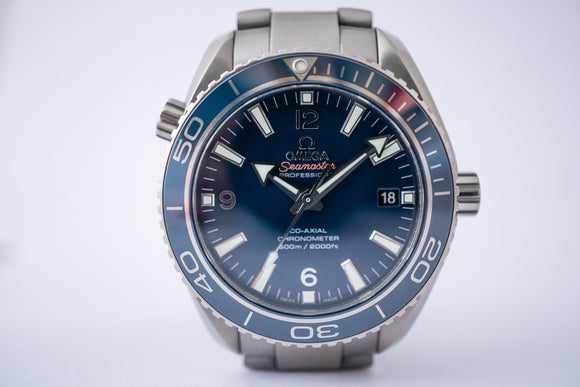 Omega Planet Ocean Seamaster Co-Axial 232.90.42.21.03.001 with Extra Clasp