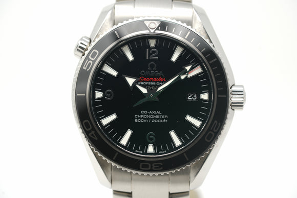 Pre-Owned Omega Seamaster Planet Ocean Liquid Metal Limited Edition 222.30.42.20.01.001