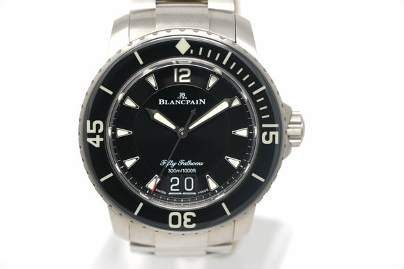 Pre-Owned Blancpain Fifty Fathoms Grande Date 5050 12B30 98