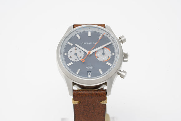 Oak & Oscar Jackson Flyback Chronograph with Three Extra Straps