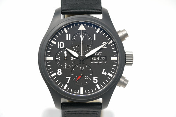 Pre-Owned IWC Top Gun Pilot's Chronograph IW389101