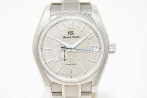Pre-Owned Grand Seiko Four Seasons Winter U.S. Exclusive SBGA415