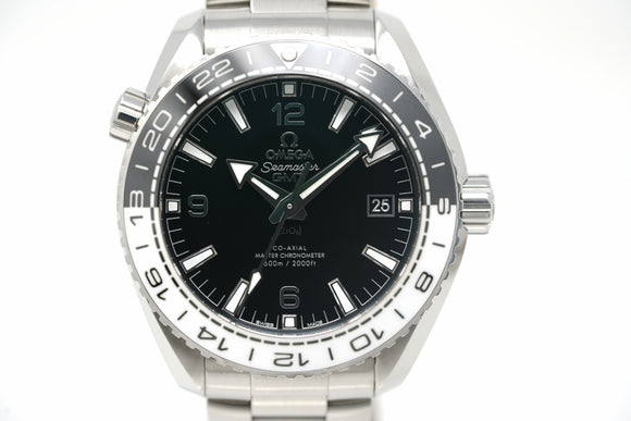 Pre-Owned Omega Seamaster Planet Ocean GMT 215.30.44.22.01.001