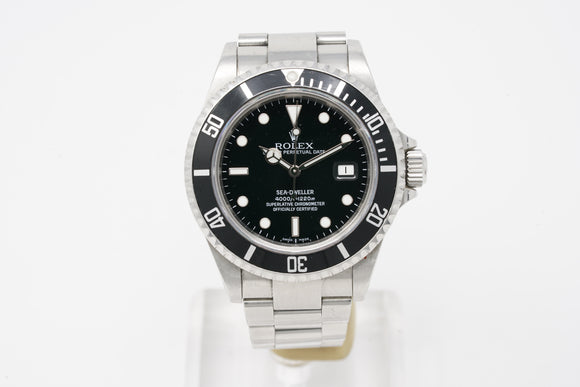 Rolex Sea-Dweller Date 16600 with Z serial