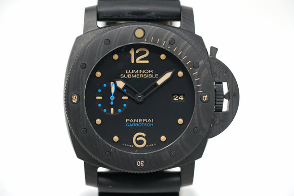 Pre-Owned Panerai Submersible Carbotech PAM00616