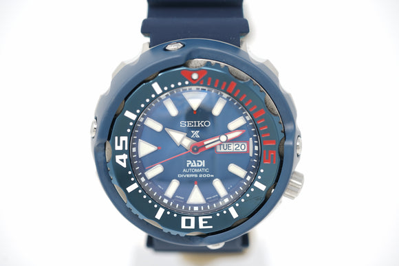 Seiko Prospex PADI Special Edition SRPA83 with Strap and Bracelet