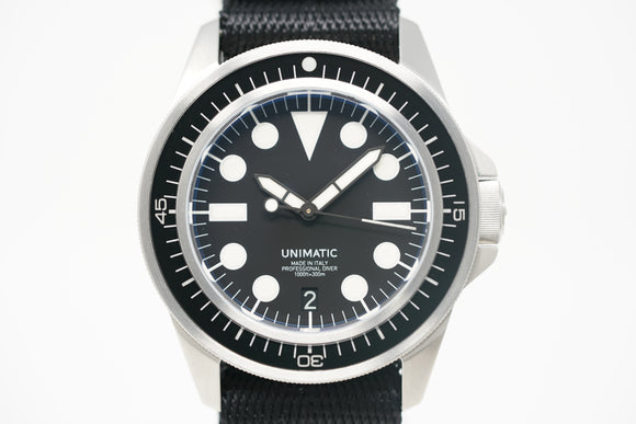 Pre-Owned Unimatic U1-E Limited Edition with Bracelet & Three Straps