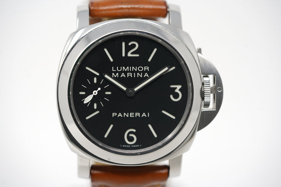 Panerai Luminor Marina PAM 111 N Series with Two Extra Straps