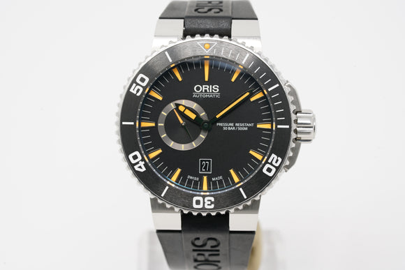 Oris Divers Small Second Date 01 743 7673 4159-07 4 26 34EB