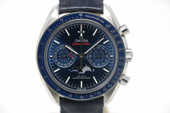 Pre-Owned Omega Speedmaster Moonphase Chronograph 304.33.44.52.03.001