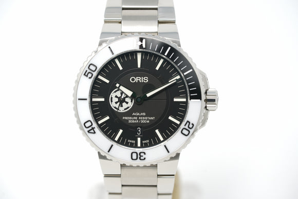 Oris Aquis Star Wars Stormtrooper Limited Edition 01 743 7734 4184-Set MB