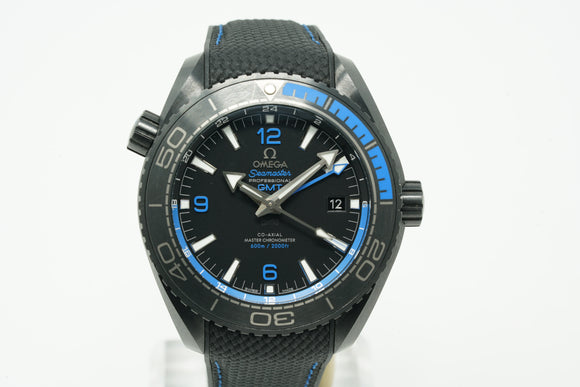 Omega Seamaster Planet Ocean 600M Deep Black GMT 215.92.46.22.01.002
