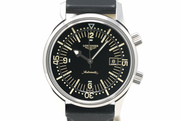 Pre-Owned Longines Heritage Diver L3.674.4.50.0