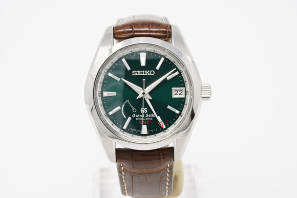 Grand Seiko Spring Drive Limited Green GMT SBGE033