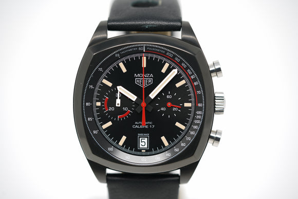 Tag Heuer Heritage Monza Calibre 17 40th Anniversary Limited Edition Chronograph CR2080.FC6375