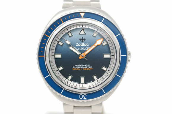 Pre-Owned Zodiac Super Sea Wolf 68 Andy Mann Limited Edition ZO9508