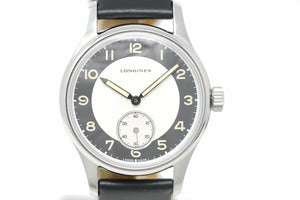 Pre-Owned Longines Heritage Classic - Tuxedo L2.330.4.93.0