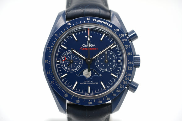 Pre-Owned Omega 'Blue Side Of The Moon' 304.93.44.52.03.001