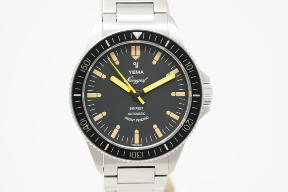 Yema Navygraf Heritage YNAV2019.AMS with Strap and Bracelet