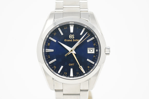 Grand Seiko 50th Anniversary 9F Quartz GMT Limited Edition SBGN009