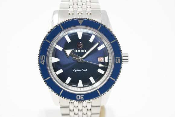 Rado Captain Cook R32505208 with Bracelet and Two Straps