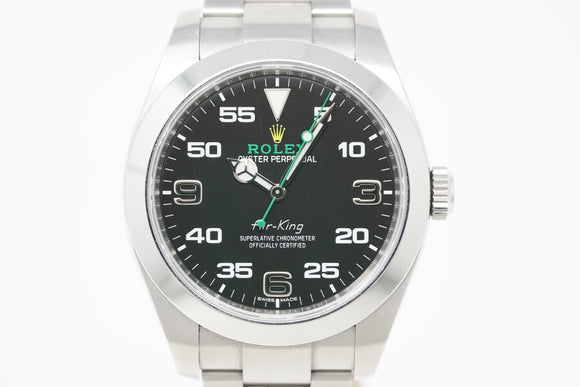 Rolex Air-King M116900-0001 with H Serial