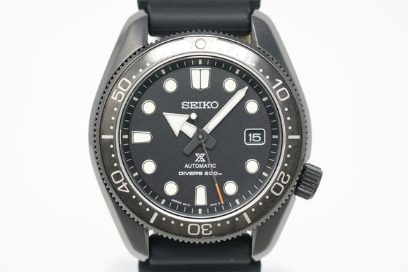 Seiko Prospex Diver 'Black Series' Topper Limited Edition SPB107
