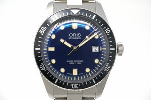 Pre-Owned Oris Divers Sixty-Five 01 733 7720 4055-07 8 21 18