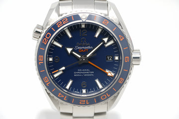 Pre-Owned Omega Seamaster GoodPlanet GMT 232.30.44.22.03.001