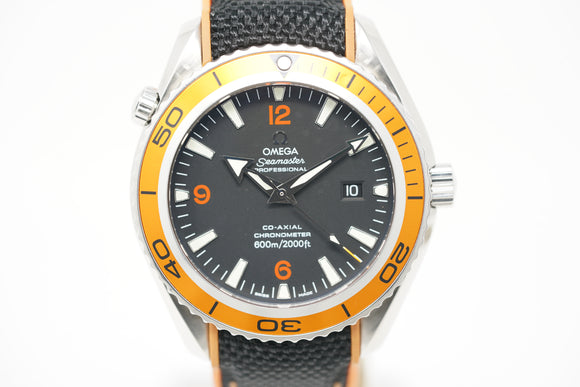 Omega Seamaster Planet Ocean Big Size Chronometer 2908.50.91 with Extra Strap