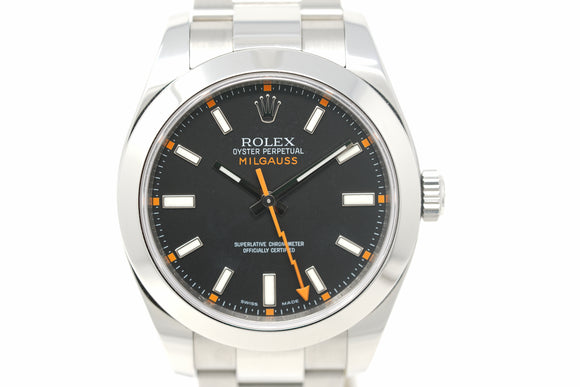 Pre-Owned Rolex Milgauss 116400 with M Serial