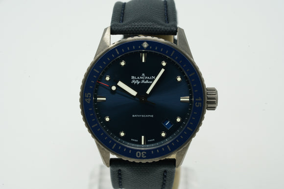 Blancpain Bathyscaphe Fifty Fathoms Ceramic 5000-0240-052A