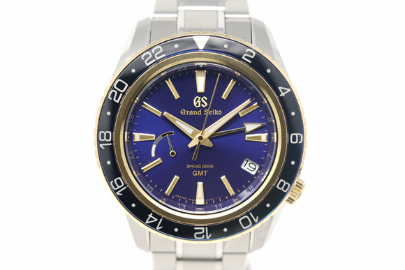 Pre-Owned Grand Seiko Spring Drive GMT SBGE248