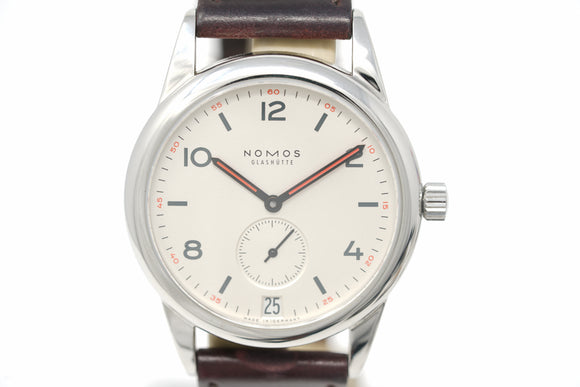Pre-Owned Nomos Glashütte Club Date 731